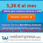 El mejor hosting de España del 2017: Comprar alojamiento en Webempresa