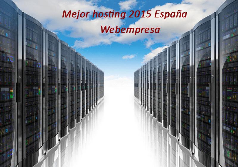 elección del mejor hosting de España para 2015
