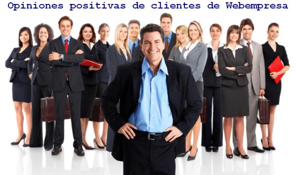 opiniones de clientes del hosting webempresa